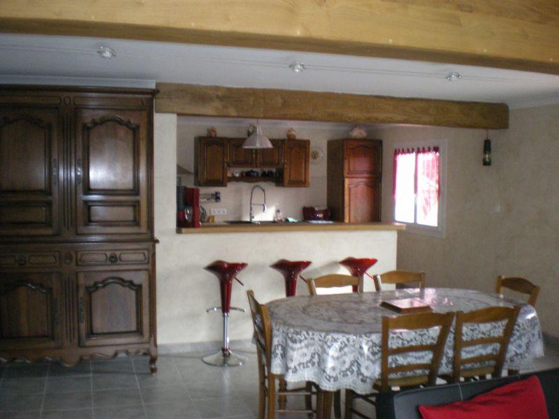 offene Küche Mietobjekt Ferienunterkunft auf dem Land 113811 Saint Ambroix