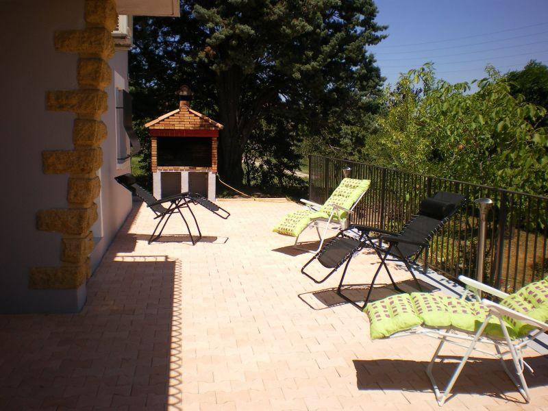 Terrasse Mietobjekt Ferienunterkunft auf dem Land 113811 Saint Ambroix