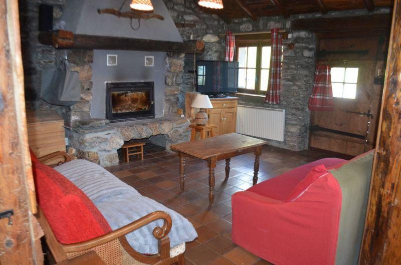 Wohnzimmer Mietobjekt Außergewöhnliche Unterkunft 116675 Aussois