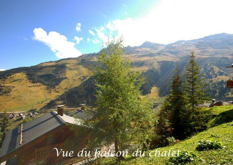 Ausblick vom Balkon Mietobjekt Appartement 80759 Méribel