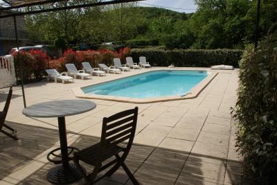 Schwimmbad Mietobjekt Villa 81653 Rustrel