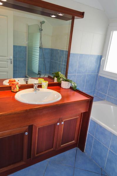Badezimmer Mietobjekt Appartement 85760 Saint Leu