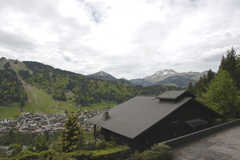 Ausblick vom Balkon Mietobjekt Studio 87233 Morzine