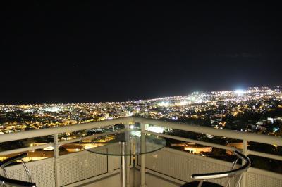 Ausblick von der Terrasse Mietobjekt Appartement 93126 Saint Denis