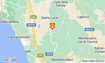 Karte Castellina Marittima Ferienunterkunft auf dem Land 43659