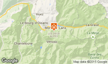 Karte Les 2 Alpes Chalet 93861