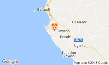 Karte Marina di Mancaversa Ferienunterkunft auf dem Land 114352