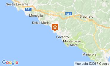 Karte Bonassola Haus 108746