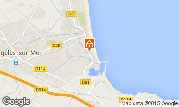 Karte Argeles sur Mer Appartement 64097