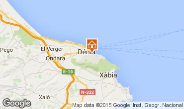 Karte Dénia Appartement 71551