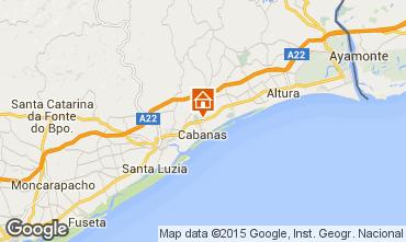 Karte Tavira Villa 64935