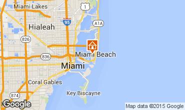 Karte South Beach Appartement 33598