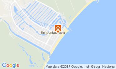 Karte Empuriabrava Appartement 108019