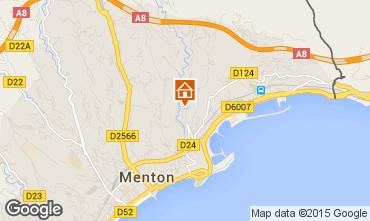 Karte Menton Appartement 86464