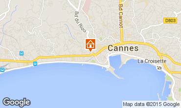 Karte Cannes Studio 70070