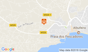 Karte Albufeira Haus 114095