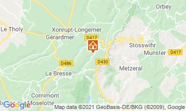 Karte La Bresse Hohneck Studio 4527