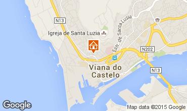 Karte Viana Do castello Villa 79738