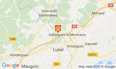 Karte La Grande Motte Villa 113402