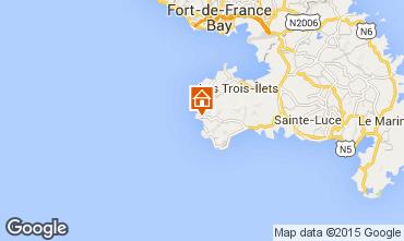 Karte Anses d'Arlet Appartement 27269