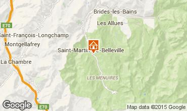 Karte Saint Martin de Belleville Chalet 82356