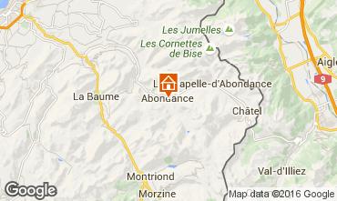Karte Abondance Chalet 74597