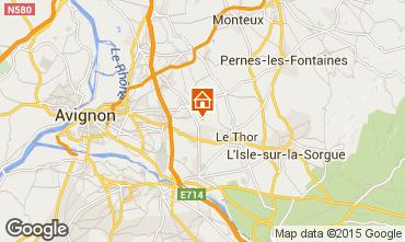 Karte Avignon Haus 93387