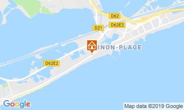 Karte Palavas-les-Flots Appartement 97096