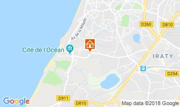 Karte Biarritz Appartement 98622