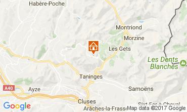 Karte Praz de Lys Sommand Chalet 66858
