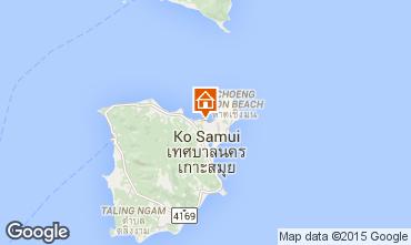 Karte Bo Phut beach Villa 67145