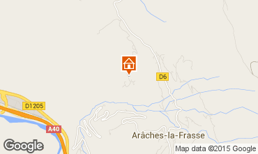 Karte Les Carroz d'Araches Appartement 59375