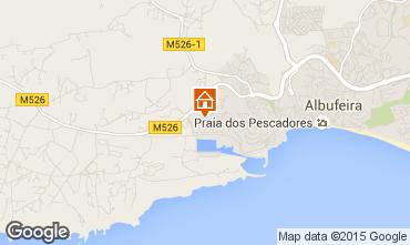 Karte Albufeira Appartement 58484