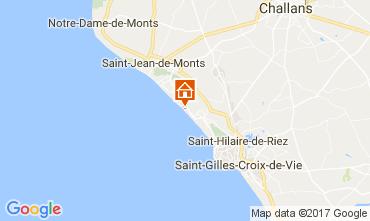 Karte Saint Hilaire de Riez Appartement 110324