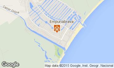 Karte Empuriabrava Appartement 82822