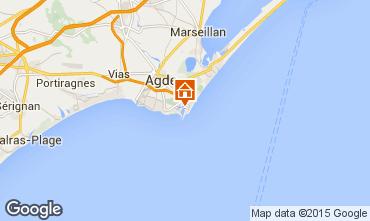 Karte Cap d'Agde Studio 50996