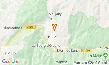 Karte Alpe d'Huez Appartement 27