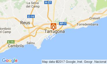 Karte Tarragona Appartement 28545