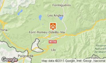 Karte Font Romeu Appartement 4131