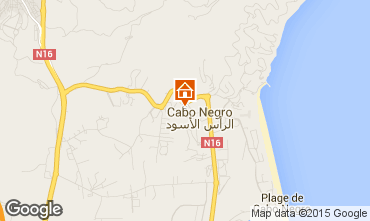 Karte Cabo Negro Appartement 64868