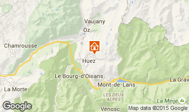 Karte Alpe d'Huez Studio 49666
