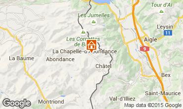 Karte Châtel Chalet 59043