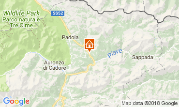 Karte Santo Stefano di Cadore Appartement 112842