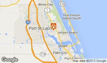 Karte Port Sainte-Lucie Villa 30871