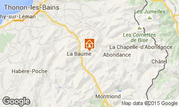 Karte Drouzin Le Mont Appartement 14521