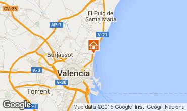 Karte Valencia Appartement 39480