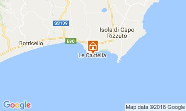 Karte Le Castella Appartement 47005
