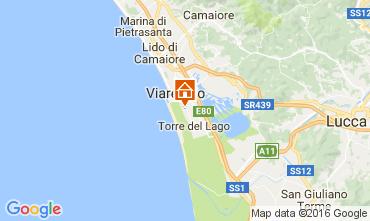 Karte Viareggio Mobil-Home 93402