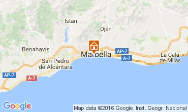 Karte Marbella Appartement 84366