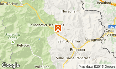 Karte Serre Chevalier Chalet 57863